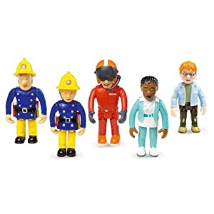 Fireman Sam Set of 5 Articulated Figures