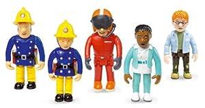 Fireman Sam - Set of 5 Articulated Figures