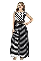 jay ambe fashion Black western wear dress kurti top and bottom Plazo set for women's combo