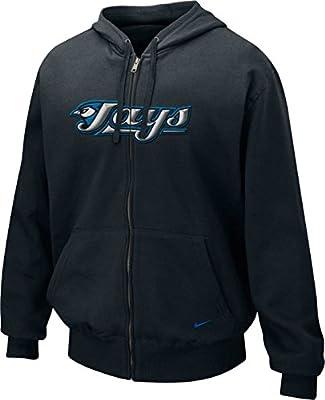 Nike Toronto Blue Jays Men's MLB Classic Logo Full Zip Hoodie Sweater