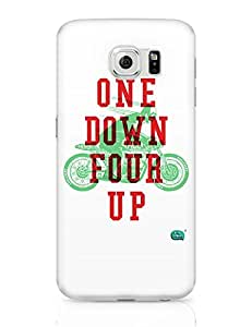 PosterGuy Samsung Galaxy S6 Case Cover - One Down Four Up   Biker's Dream   Designed by: Being Indian