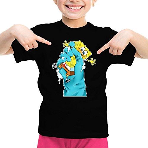 Mdchen-Kinder-T-Shirt-Parodie-auf-SpongeBob-Schwammkopf-687