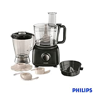 Philips Daily Collection Hr   Watt Mini Food Processor Black