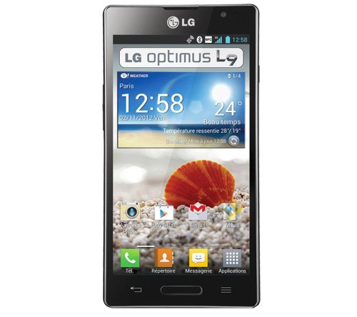 Lg Optimus L9 Black P760/p765/p768 (Factory Unlocked)