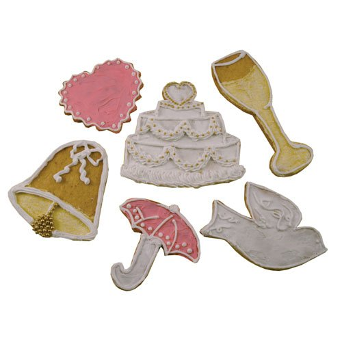 baby shower tin cookie cutter set 6 piece baking tools