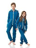 ZIPUPS kids Mono-Pijama Kids Clean Cut (Azul Medio)