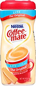 Coffee-mate Coffee Creamer, Original Lite Canister, 11-Ounce Containers (Pack of 12)