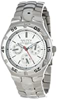 Nautica Men's N10074 Metal Round Multifunction Watch from Nautica