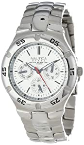 Nautica Men's N10074 Metal Round Multifunction Watch