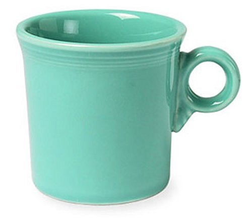 Fiesta 10-1/4-Ounce Mug, Turquoise (Free Range Homeschool compare prices)
