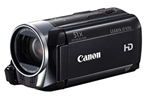 Canon LEGRIA HF R306 Full-HD Camcorder (HD-CMOS Sensor,7,5 cm (3 Zoll) Touch-LCD, 32-fach opt. Zoom, SDXC-Kartenslot, Intelligent IS) schwarz