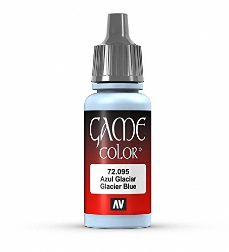 Vallejo Game Color Ice Blue Paint, 17ml