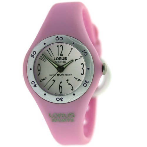 Lorus Ladies Pink Sports Watch RG265BX9
