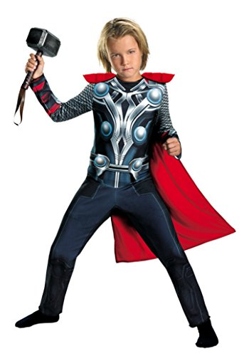 Boys Thor Avengers Classic Kids Child Fancy Dress Party Halloween Costume