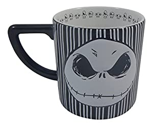 Disney Bow Jack Skellington Mug 20 Oz