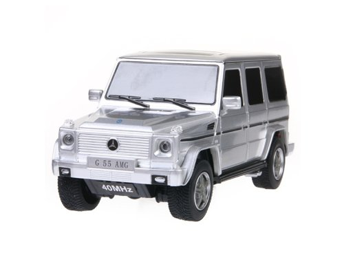 RASTAR Benz G55 AMG 30500 1:24 6 Channel Remote Control Car Model (Silver)