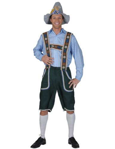 Salzberg Mens Pants With Suspenders Md Halloween Costume