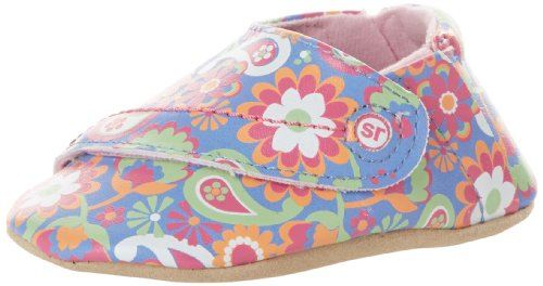 Stride Rite Groovy Floral Crib Shoe (Infant),Multi,6-12 Months M Us front-759049