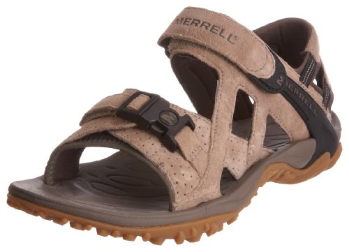 Merrell Women's Kahuna Iii Classic Taupe Ankle Wrap Sandal J88800 5 UK