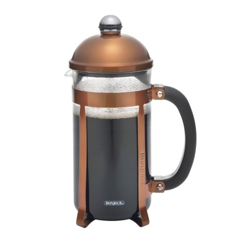Bonjour Coffee 8-Cup Maximus French Press, Copper front-156656
