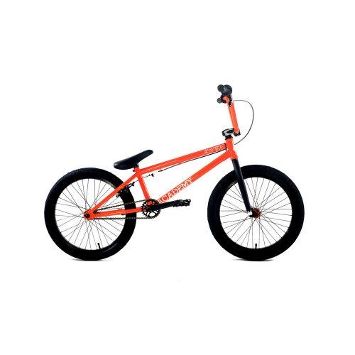 Academy Inspire BMX Bike, Black with Orange, 18-Inch