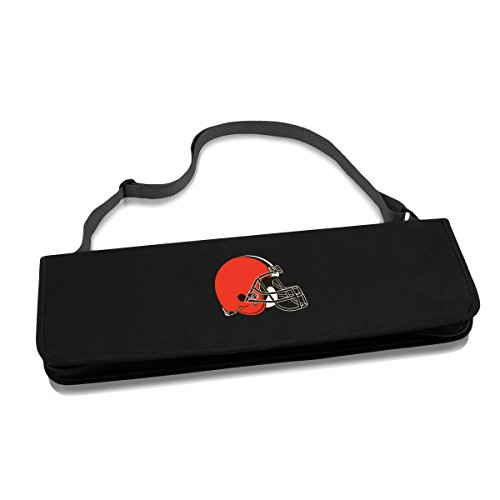 NFL Cleveland Browns Metro 3-Piece BBQ Tool Set in Carry Case