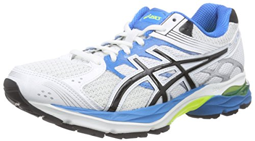 ASICS Gel-pulse 7 - Scarpe Running Uomo, Bianco (white/black/methyl Blue 0190), 44 EU