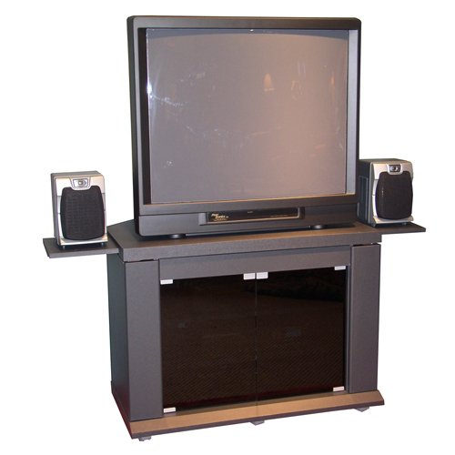 Cheap Charcoal Home Entertainment TV Stand (B0017LVN1Q)