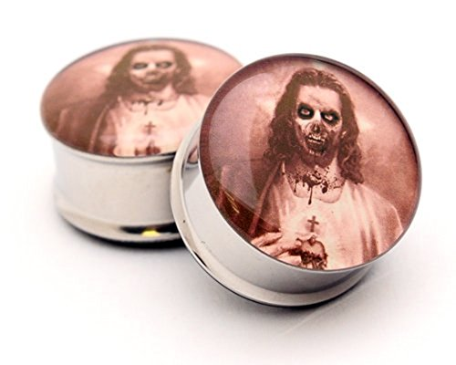 Zombie Jesus Picture Plugs