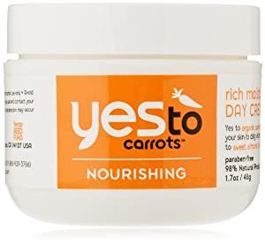 Yes To Carrots Moisturizing Day Cream, Dry to Sensitive Skin