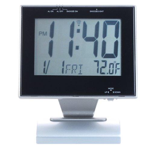 Natico Clock, Large Display Alarm,Temperature, Date (10-DF188)