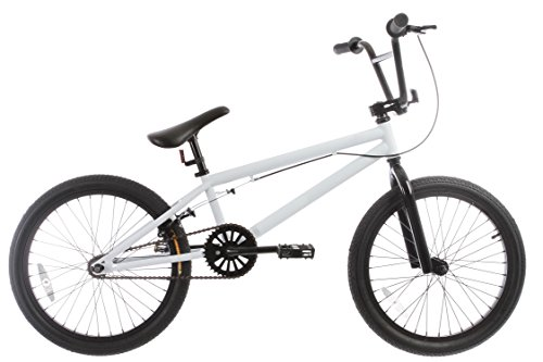 Read About Framed Forge Blank BMX Bike White 20″