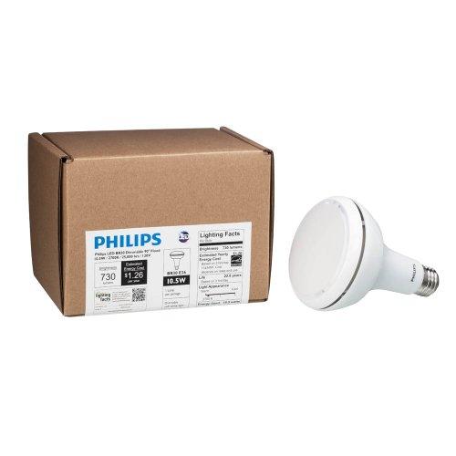 philips 423798 10 5 watt 65 watt br30 indoor flood led. Black Bedroom Furniture Sets. Home Design Ideas