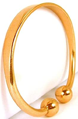Copper Bracelet Torc Bangle Non-Magnetic Arthritis Aid Mens & Ladies Size Options