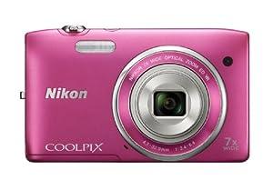 Nikon デジタルカメラ COOLPIX (クールピクス) S3500PK ストロベリーピンク
