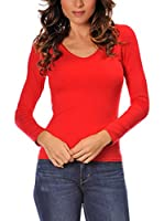 ANOUSKA Camiseta Manga Larga Gabriel (Rojo)