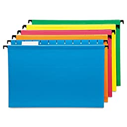Hanging File Folders Legal Assorted 20/Box