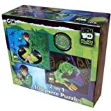 Ben 10 Alien Force 2 In 1 100 Piece Puzzle
