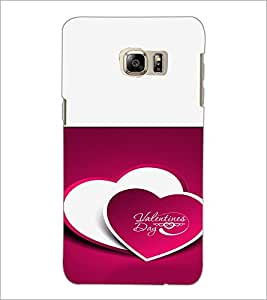 PrintDhaba Valentines Day D-4725 Back Case Cover for SAMSUNG GALAXY NOTE 5 EDGE (Multi-Coloured)