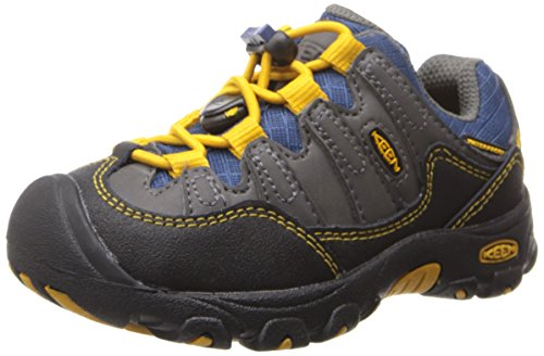 Keen Pagosa Low Wp Youth Hiking Shoe (Toddler/Little Kid/Big Kid),Magnet/Golden Yellow,11 M Us Little Kid front-990213