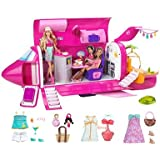 Barbie Dolls & Glam Jet Includes 3 Dolls, Fashions & Accessories