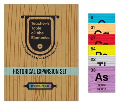 Teacher's Teacher's Table of Elements - Historical Expansion Set: Ages 11 to 18+ - 1
