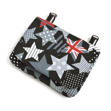 いつも一緒のmy移動ポケット・付けポケット スターズ・イン・ユア・マインド(ブラック) 日本製 N6011900