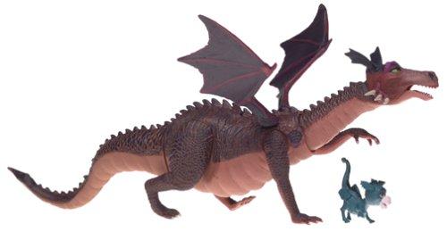 SHREK 2 - DRAGON / DRACHE - with Launching Fireball & Flapping Wings - incl. Baby Drache - Hasbro 2004 - OVP