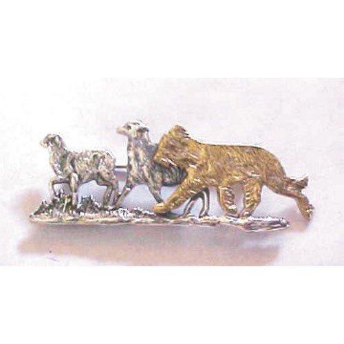 Briard Breed Origin Pin