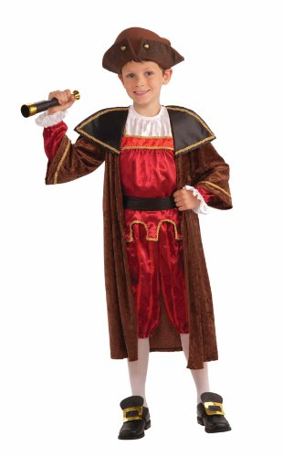Child's Christopher Columbus Costume, Small