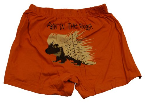 Pain in the Rear Boxer Leisure Sleep Short Lazy One Porcupine