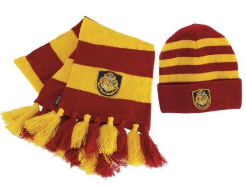 Hogwart's Knit Hat & Scarf