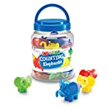 Learning Resources Snap 'N' Learn Counting Elephants (set of 10)