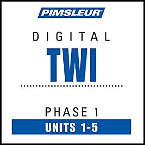 Twi Phase 1, Unit 01-05 Audiobook